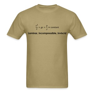 Bernoulli Equation - Men's T-Shirt