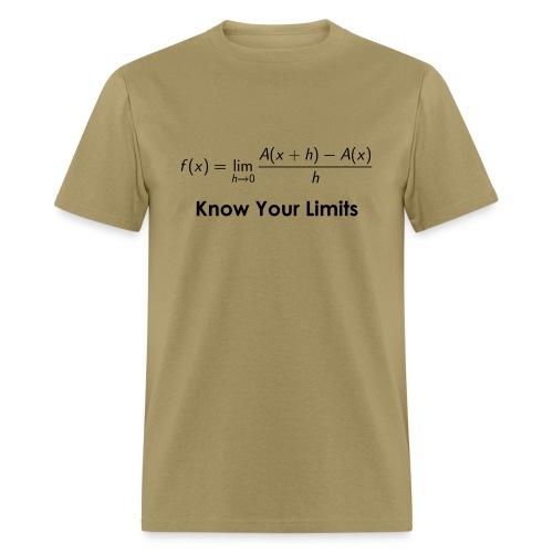 Calculus Limits - Men's T-Shirt