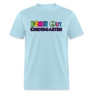 Peace Out Kindergarten Men's  Shirt - Men's T-Shirt