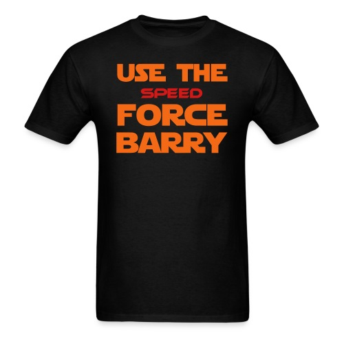 Force of Two Worlds (Text Only) - Men's T-Shirt