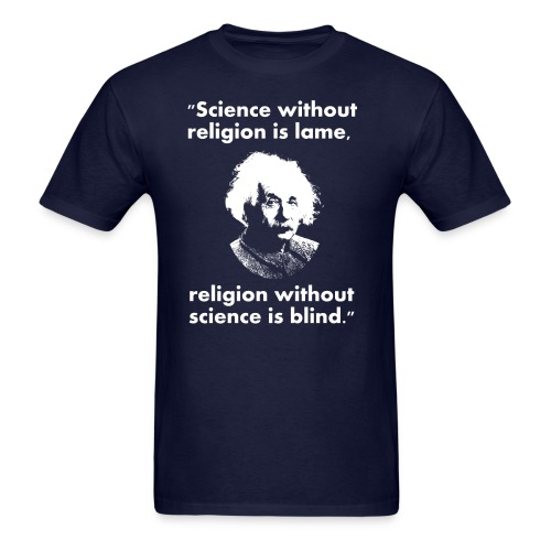 Science and Religeon - Men's T-Shirt