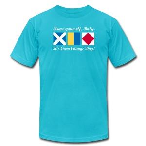Crew Change Day - Men's Fine Jersey T-Shirt
