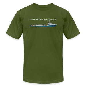 Drive It Like You Stole It - Men's T-Shirt by American Apparel