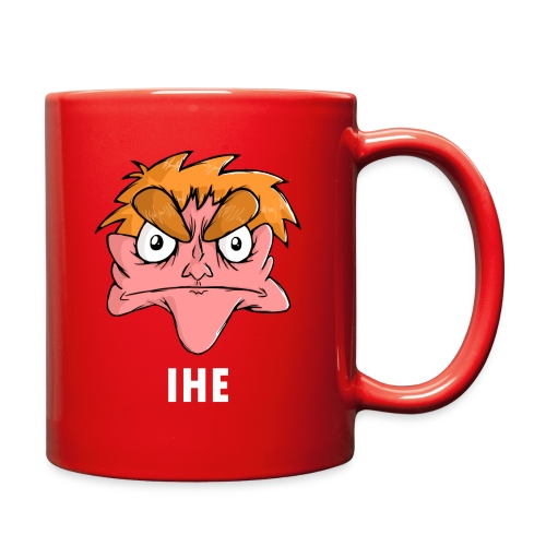 Full Color Mug - Show your support for IHE by slapping his face right in the middle of a mug.