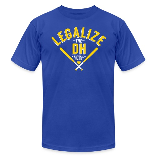 Legalize the DH (Milwaukee) - Men's Fine Jersey T-Shirt
