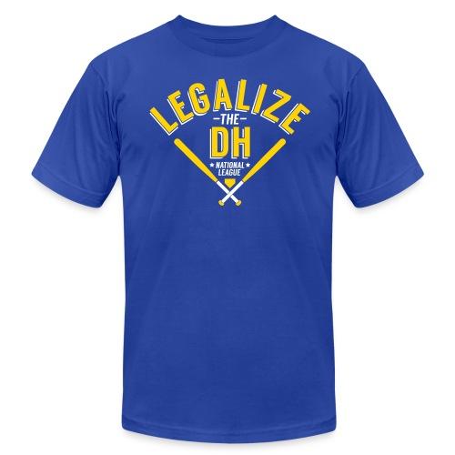 Legalize the DH (Milwaukee) - Men's Fine Jersey T-Shirt