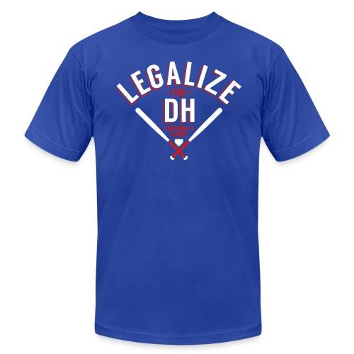 Legalize the DH (Chicago) - Men's Fine Jersey T-Shirt