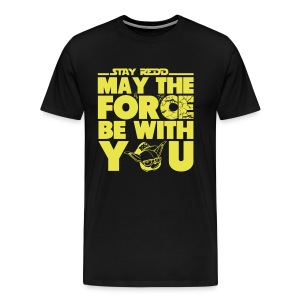 MAY THE 4TH BE WITH U - Men's Premium T-Shirt