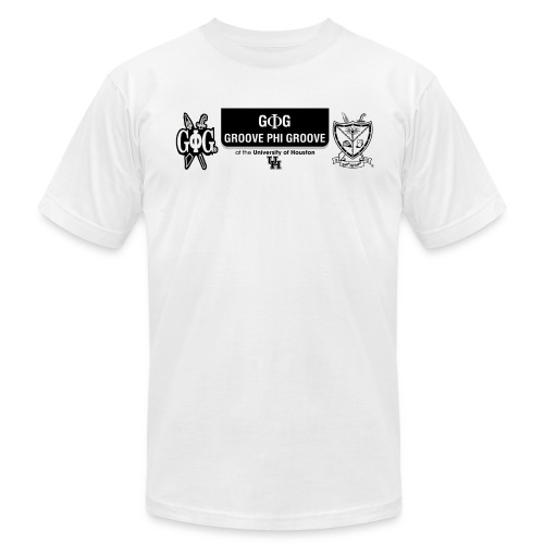 G Phi G at UH Tee (White) - Men's Fine Jersey T-Shirt