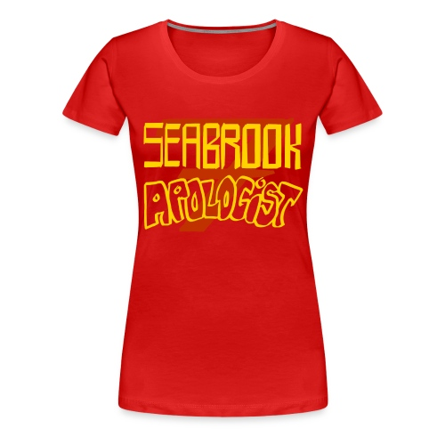 Seabrook Apologist T-Shirt - Femme Fit - Women's Premium T-Shirt