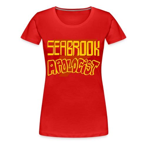 Seabrook Apologist T-Shirt - Femme Fit - Women's Premium T-Shirt