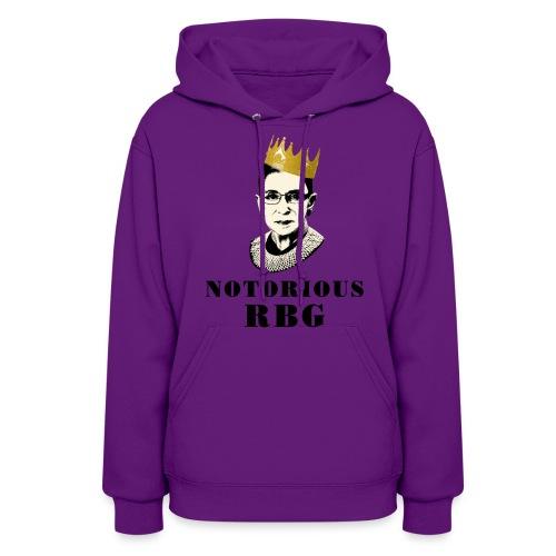 Notorious RBG sweatshirt - Women's Hoodie