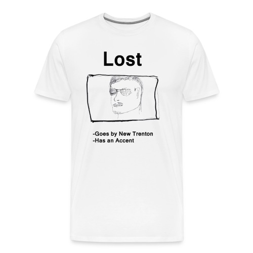 Lost new Trenton Shirt - Men's - Men's Premium T-Shirt