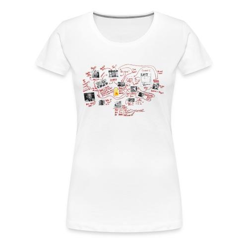 Bro Cops Murder Board Shirt - Women's - Women's Premium T-Shirt