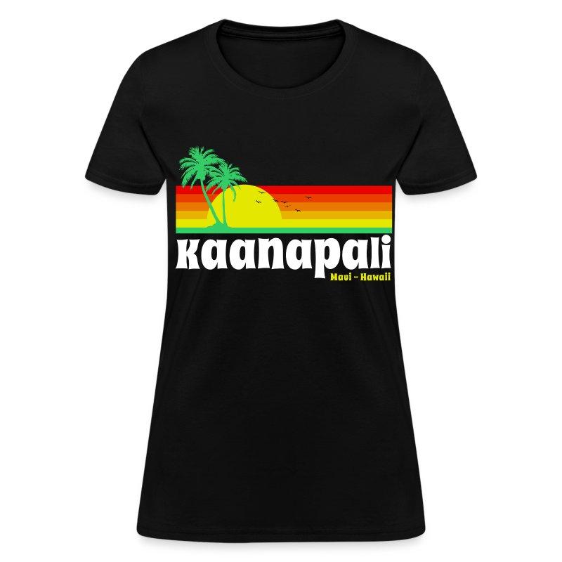 Kaanapali maui hawaii t shirt spreadshirt for Hawaiian design t shirts