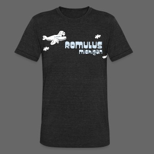 Romulus MI - Unisex Tri-Blend T-Shirt by American Apparel