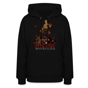 Otis Jiry Monster (Black) - Women's Hoodie