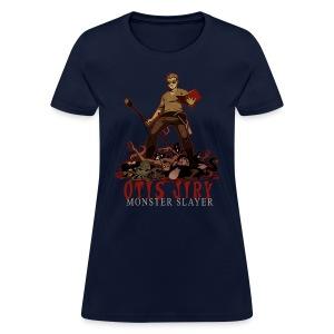 Otis Jiry Monster (Navy) - Women's T-Shirt
