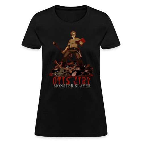 Otis Jiry Monster (Black) - Women's T-Shirt