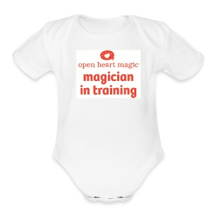 Open Heart Magic Onesie - Short Sleeve Baby Bodysuit