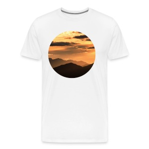 Mescal Sun - WHITE - Men's Premium T-Shirt