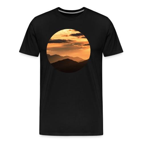 Mescal Sun - BLACK - Men's Premium T-Shirt