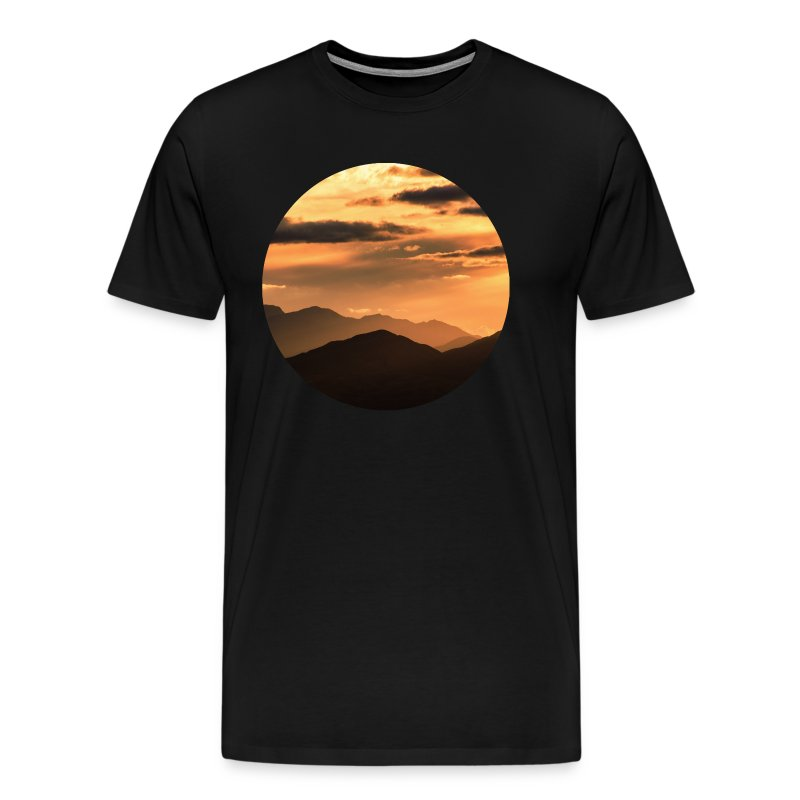 Mescal Sun - BLACK - Men's Premium T-Shirt