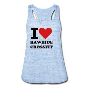 i Heart RawHide Tank - Women's Flowy Tank Top by Bella