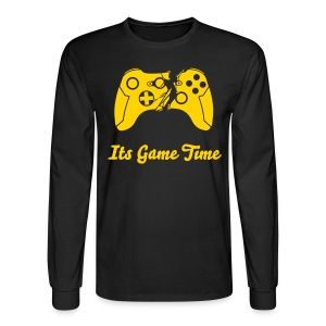 Game Time Sleeve Shirts - Men's Long Sleeve T-Shirt