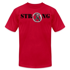 Men's STRONG - Men's T-Shirt by American Apparel