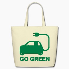 GO GREEN ~ DRIVE ELECTRIC VEHICLES Bags & backpack
