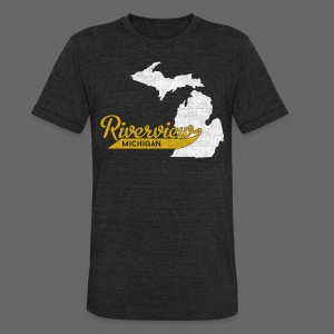 Riverview MI - Unisex Tri-Blend T-Shirt by American Apparel