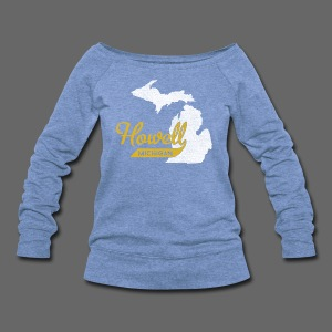 Howell MI - Women's Wideneck Sweatshirt