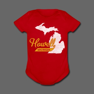 Howell MI - Short Sleeve Baby Bodysuit