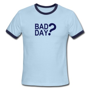 Bad Day? In Navy - Men's Ringer T-Shirt