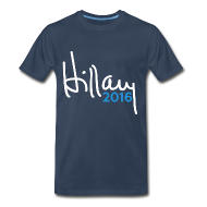 T-Shirts ~ Men's Premium T-Shirt ~ Hillary 2016 T-Shirt