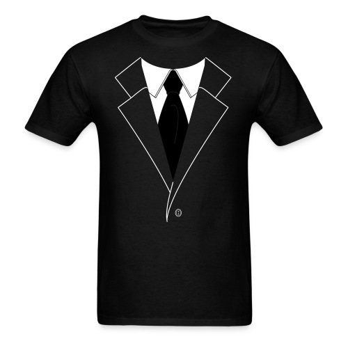 Original Chaos Shirt with logo on back mens - Men's T-Shirt