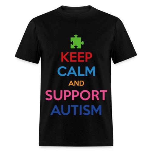 Support Autism - Men's T-Shirt