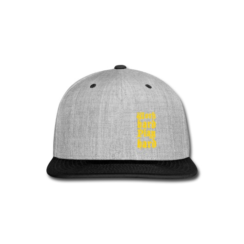 on point - Snap-back Baseball Cap