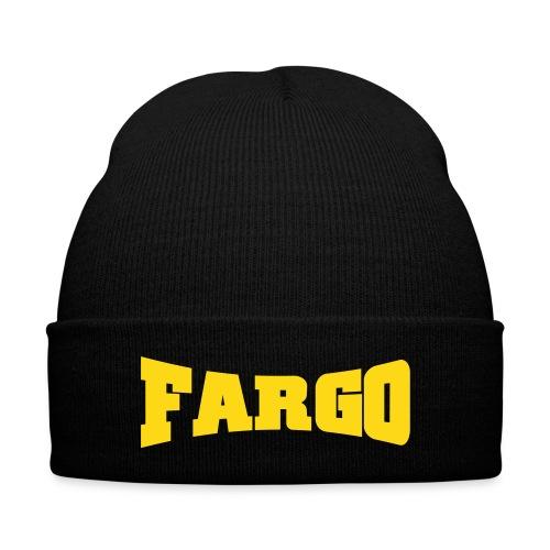Fargo Beanie - Knit Cap with Cuff Print