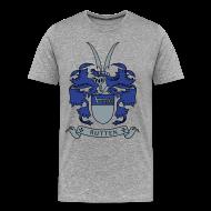 T-Shirts ~ Men's Premium T-Shirt ~ Rutten Family Crest (Men's Shirt)