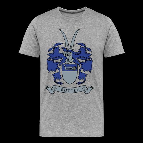 Rutten Family Crest (Men's Shirt) - Men's Premium T-Shirt