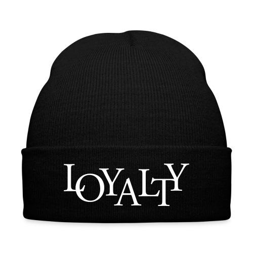 Loyalty Beanie - Knit Cap with Cuff Print