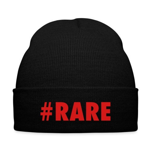 Men's  #RARE Beanie - Knit Cap with Cuff Print