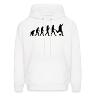 Hoodies ~ Men's Hooded Sweatshirt ~ Soccer / Football Evolution