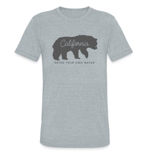 B.Y.O.W. - Unisex Tri-Blend T-Shirt by American Apparel