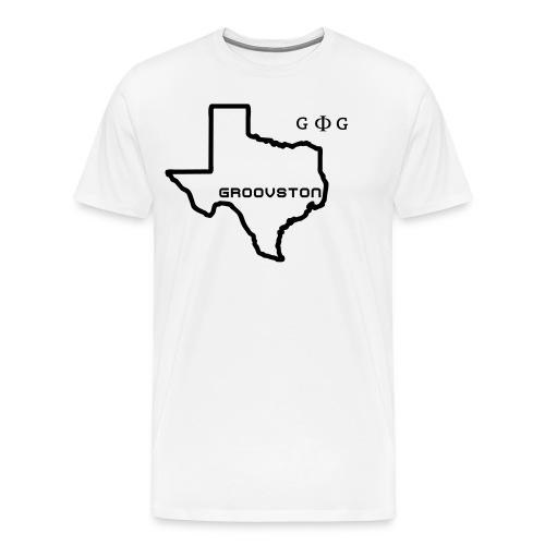 Groovston Tee (White) - Men's Premium T-Shirt