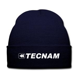 Tecnam Knit Blue - Knit Cap with Cuff Print