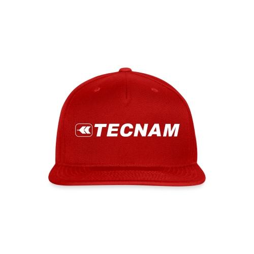 Tecnam Cap Red/White - Snap-back Baseball Cap
