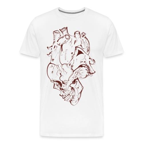 Skull Heart - Men's Premium T-Shirt